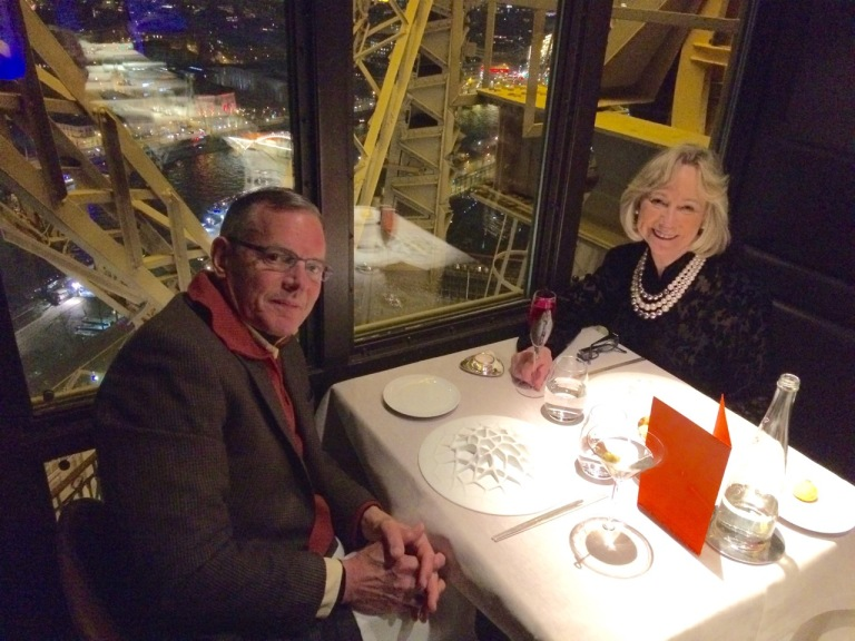 Dinner at Jules Verne