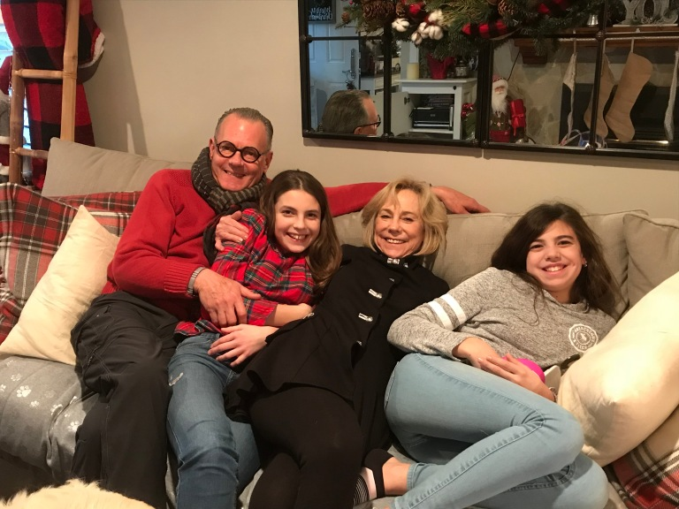 Christmas eve with Katia & Natalia