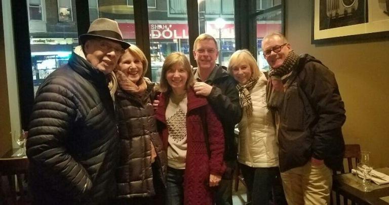 Dinner with Dan, Marjy, Gayle & Mike