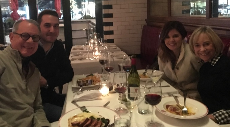 Dinner with Pierre & Caitlyn