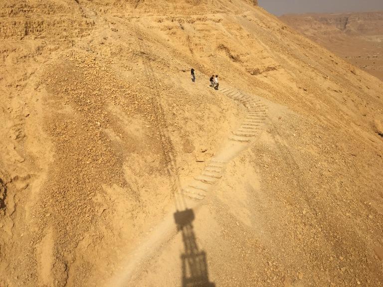 Snake Path at Masada