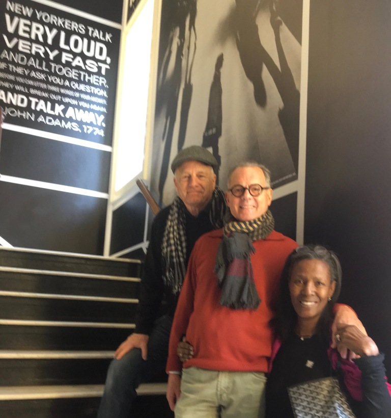 With Bill & Katiti at The City Museum of New York